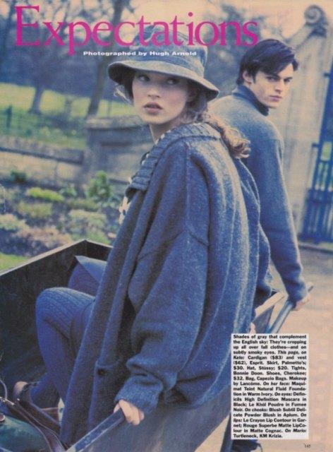 moodboard  flashback  kate moss  u0026 mario sorrenti 1992