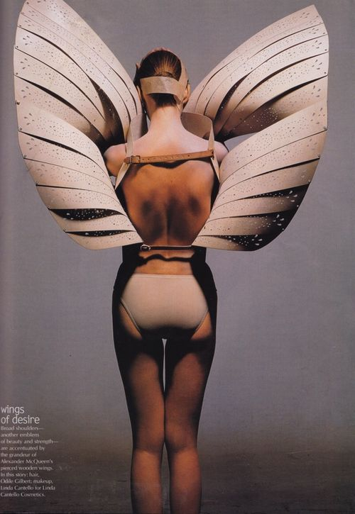 Moodboard Holiday Style Alexander Mcqueen S Angel Wings