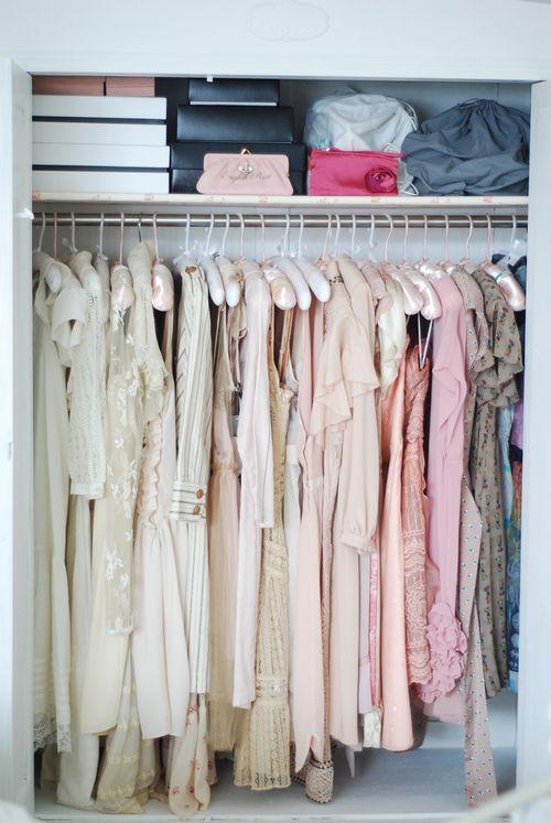 In her closet 1