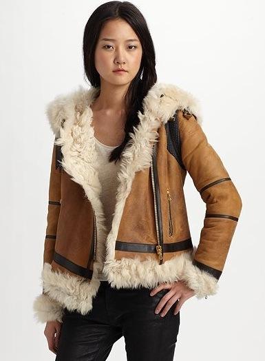 Moodboard: Rag & Bone Shoreditch Shearling Jacket