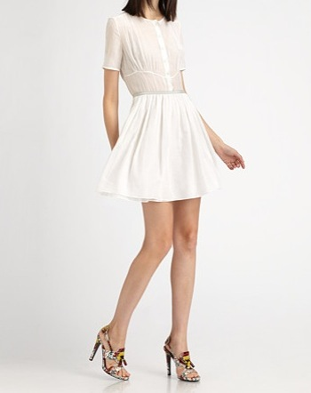 Oh Perfect White Dress Have I Found You Saks 895