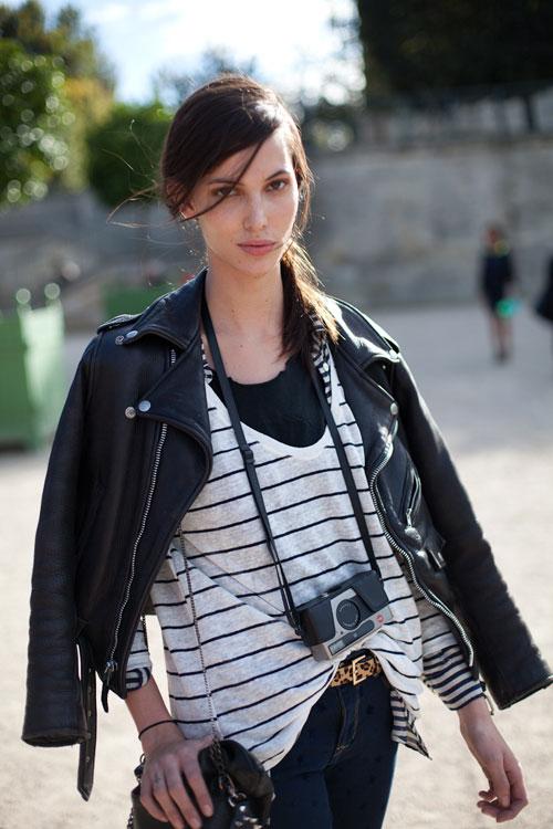 Moodboard Street Style Trends Motorcycle Jacket
